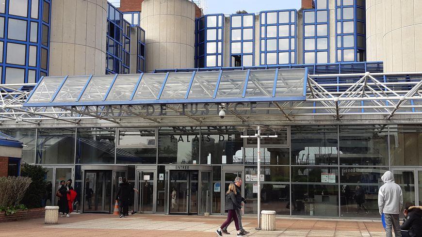 Le tribunal de grande instance de Bobigny, en Seine-Saint-Denis. 27 mars 2019.