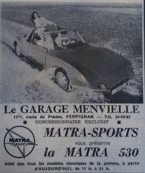 Publicité publiée à l'époque