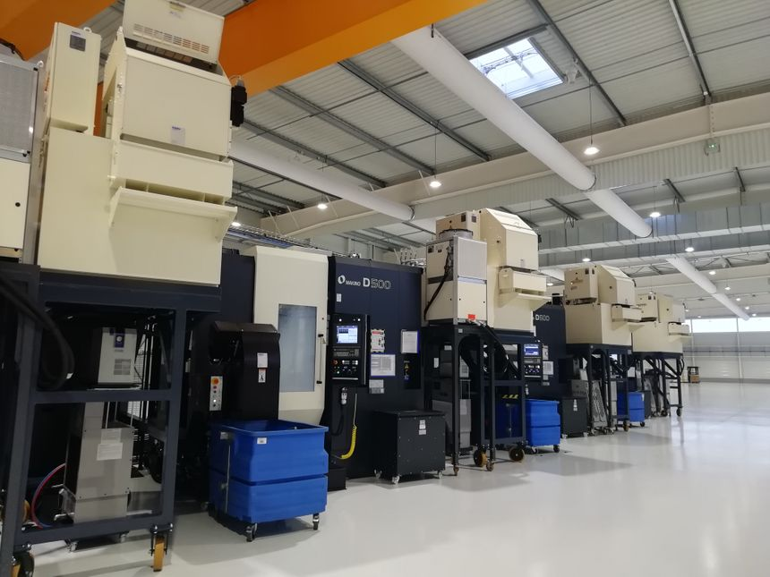 La nouvelle unité autonome de production va être installée progressivement dans un bâtiment de 7000 mètres carrés.