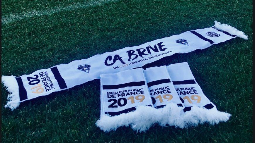 Le CA Brive va offrir 10.000 écharpes à ses fans