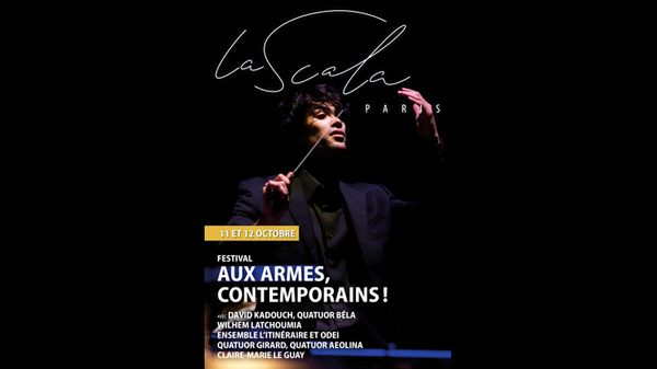 A la Scala de Paris, les Quatuors Aeolina et Girard, Claire-Marie Le Guay, l'Itinéraire, et l'ODEI.