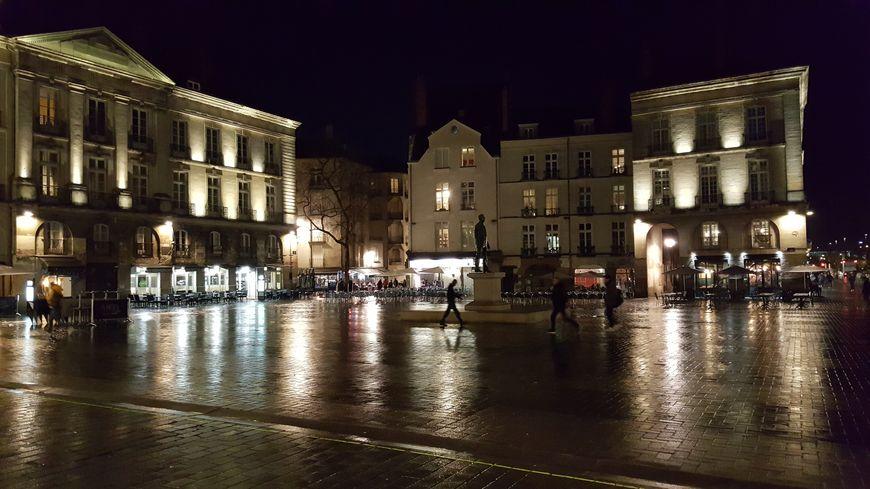 La place Bouffay, à Nantes, le 28 janvier 2020.