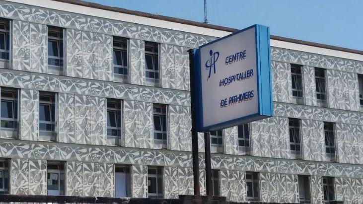 L'hôpital public de Pithiviers (janvier 2019)