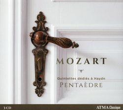 Quatuor à cordes n°17 en Si bémol Maj K 458 (La chasse) : 2. Menuetto. Moderato -  arrangement pour quintette à vent - DANIELE BOURGET