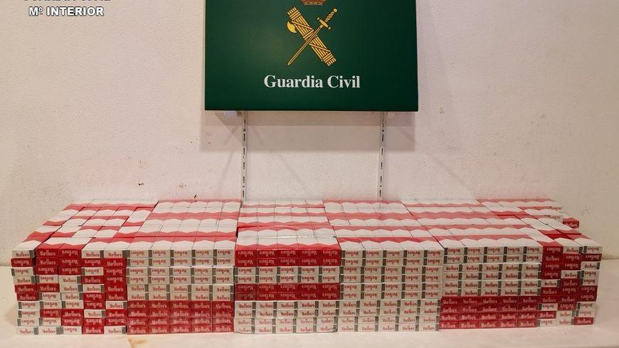 2539 paquets ont été saisis par la Guardia Civil
