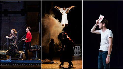 """Théâtre """"La Carpe et le Lapin"""", """"Angels in america"""", """"Phèdre !"""" et """"Motel"""""""