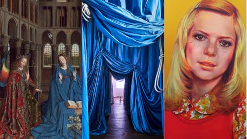 "Expositions : ""Van Eyck - Une Révolution optique"", ""Ulla Von Brandenburg - Le Milieu est bleu"", ""Nina Childress - Lobody Noves me"""