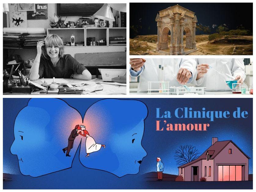 Culture et territoires, recherche, Clinique de l'amour et Claire Bretécher : la Session de rattrapage