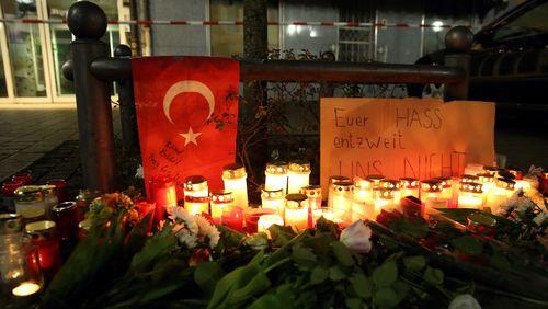 L'Allemagne à l'heure du recueillement , après les attentats racistes commis à Hanau