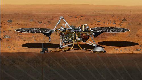 Les premiers résultats de la mission Insight sur Mars