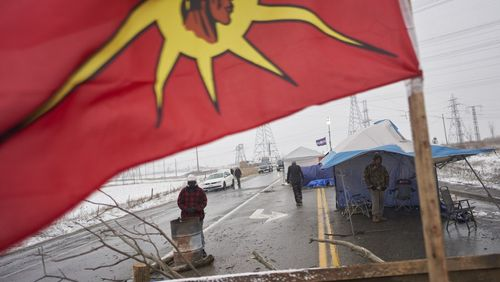 Au Canada, un gazoduc en construction divise les Indiens Wet'suwet'en