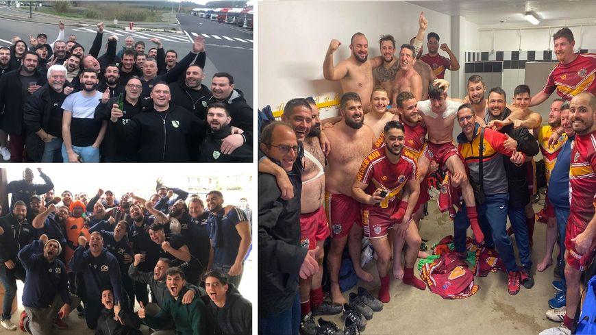 PHOTOS - Les joies des équipes catalanes ce week-end