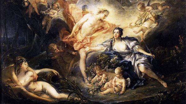 Fontainebleau, 1697 : Issé d'André Cardinal Destouches
