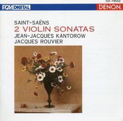 Sonate pour violon et piano n°1 en ré min op 75 : Allegro molto - JEAN JACQUES KANTOROW