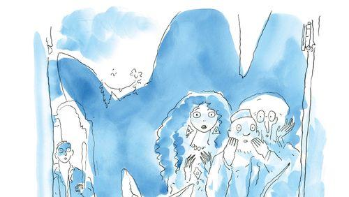 """""""Le Chat du Rabbin"""" de Joann Sfar (8/10) : Le rêve du peintre"""