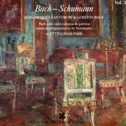 Partita n°1 en si min BWV 1002 : 6. Double - arrangement pour violon et piano - JEAN JACQUES KANTOROW