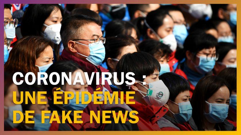 Coronavirus : une épidémie de fake news
