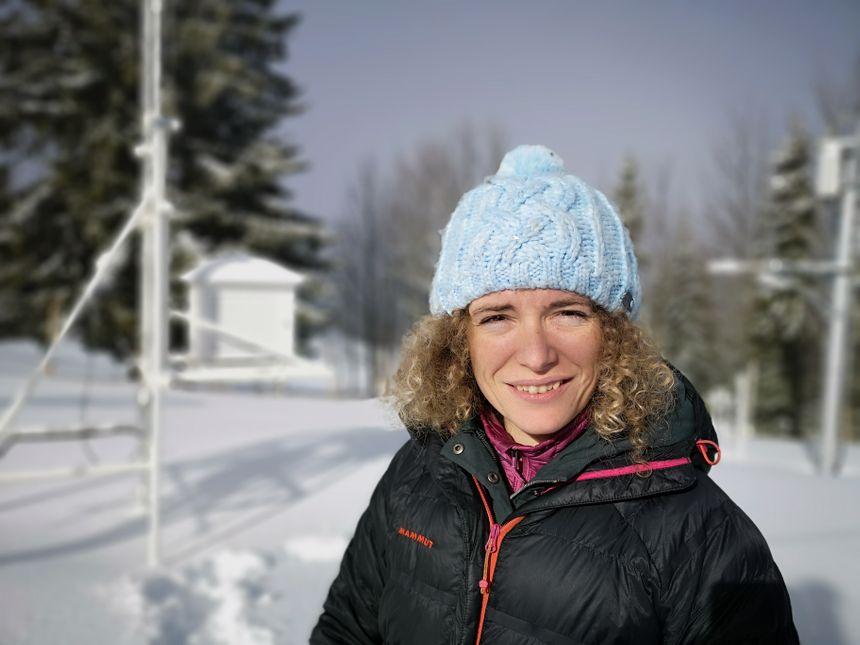 Marie Dumont, du Centre d'études de la neige Météo-France / CNRS - Radio France