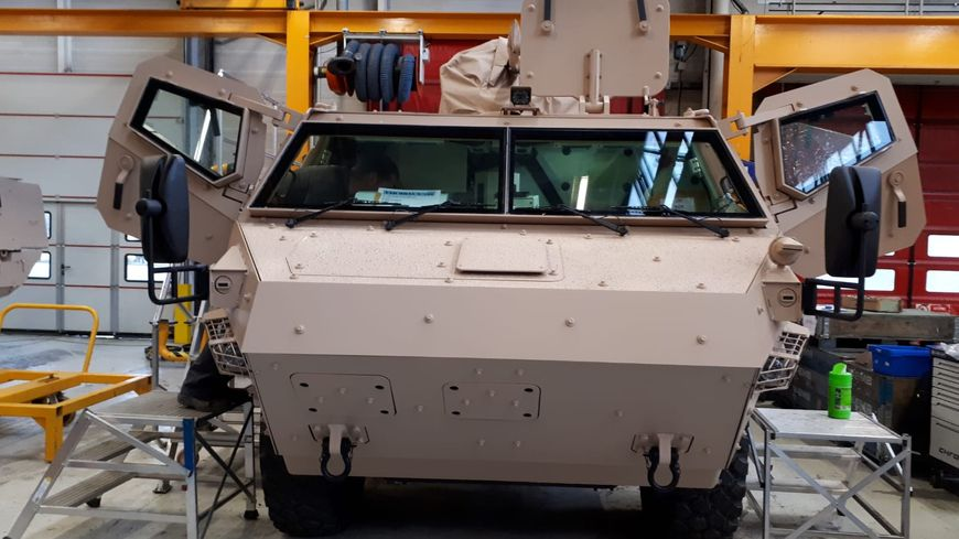 Deux entreprises de Limoges en pointe pour équiper les véhicules blindés de l'armée française