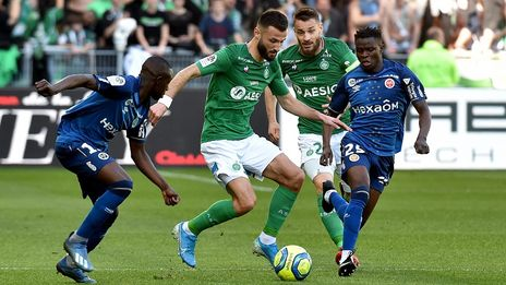 Ligue 1 (J26) | Le Stade de Reims arrache un point in extremis à Saint-Etienne (1-1)