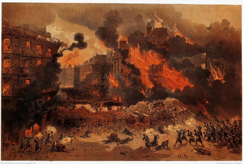 La Commune de Paris, incendie de la nuit du 24 mai 1871