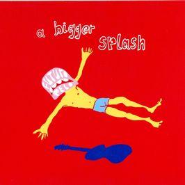 "Pochette de l'album ""A bigger splash"" par Futuro Pelo"