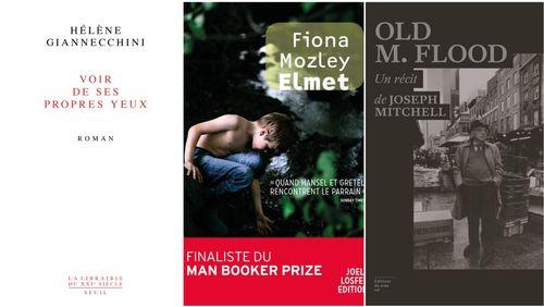 """Littérature :  """"Voir de ses propres yeux"""", d'Hélène Giannecchini (Seuil), """"Elmet"""", de Fiona Mozley (Joelle Losfeld), """"Old M.Flood"""", de Joseph Mitchell (Editions du sous-sol)"""