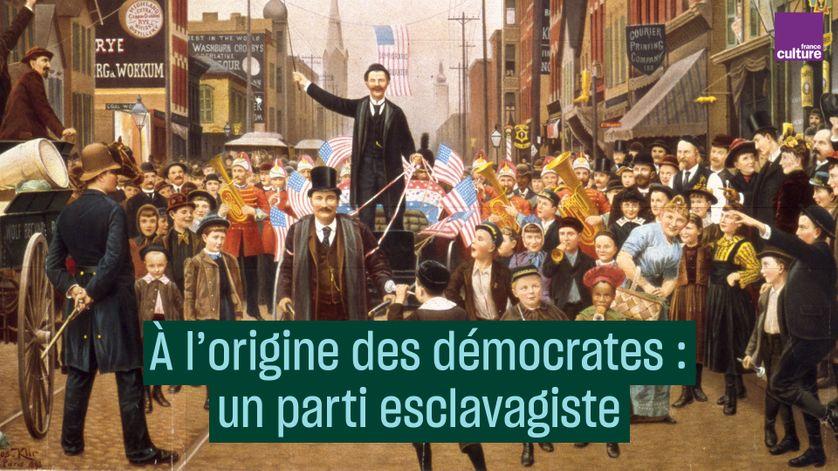 À l'origine du parti démocrate : un parti esclavagiste