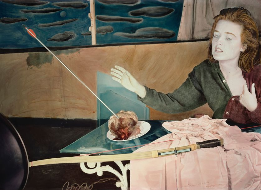 Ouka Leele Wound as the fog to the sun, photographie Tirage pigmentaire sur papier.  « Cœurs, du romantisme dans l'art contemporain » au musée de la Vie romantique