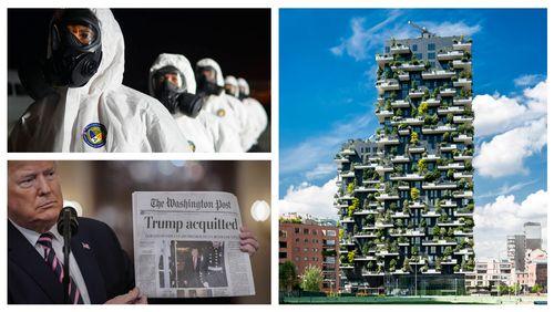 Coronavirus: l'affolement du monde / Le style Trump est-il durable? / Municipales: 36 000 nuances de vert