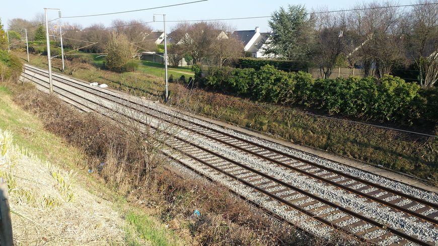 Trafic SNCF interrompu entre Nantes et Angers