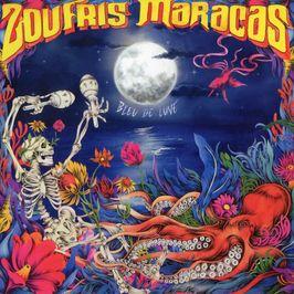 """Pochette de l'album """"Bleu de lune"""" par Zoufris Maracas"""