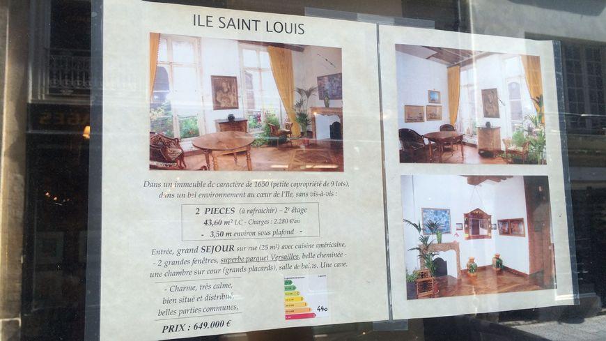 Affichée 945.000 euros pour un 30 m² à Paris, une annonce immobilière fait polémique