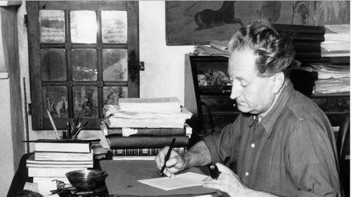 """Nuit Jean Giono (4/10) : Jacques Mény : """"Giono avait un goût marqué pour le western mais il aimait aussi beaucoup Buñuel et Capra"""""""