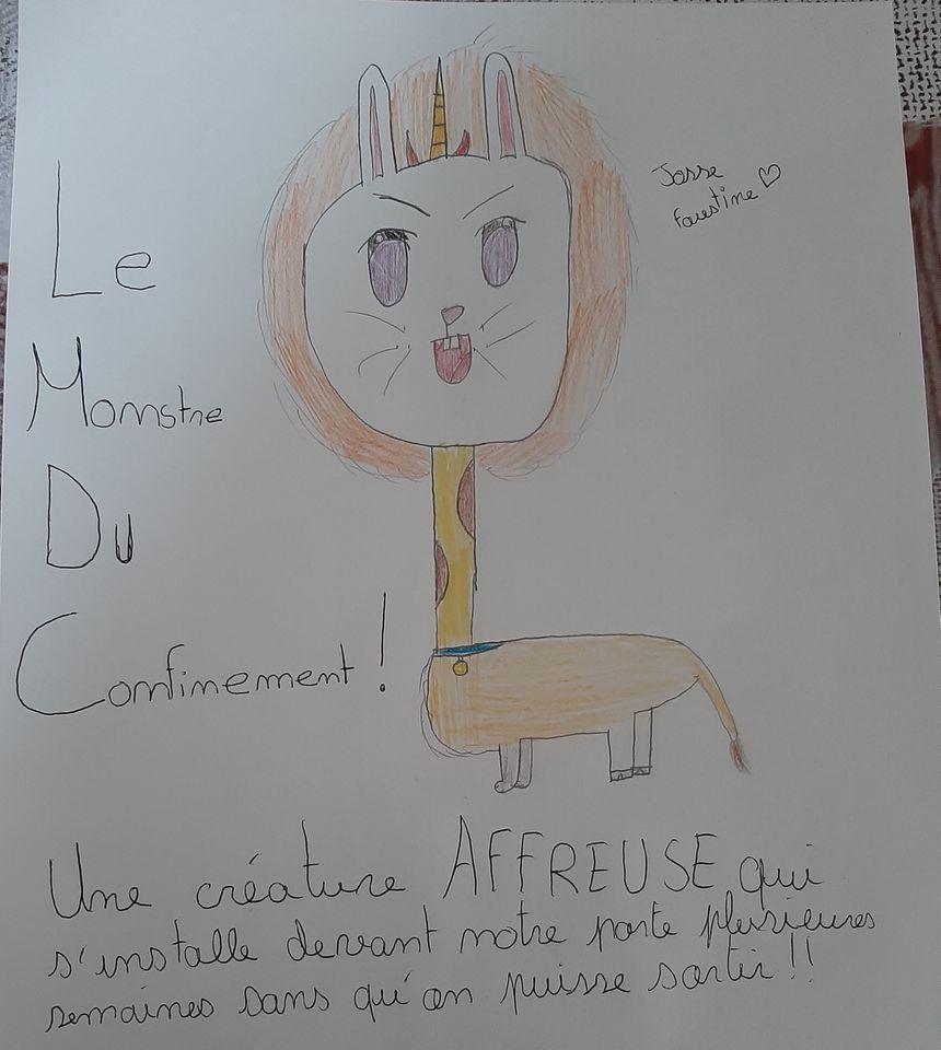 Confinement Decouvrez Les Plus Beaux Dessins D Enfants Envoyes A France Bleu Berry