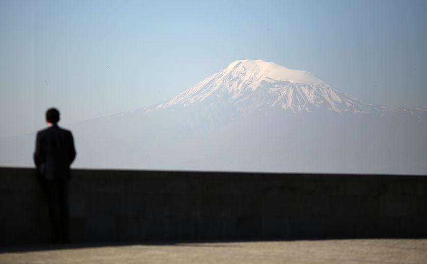 Le Mont Ararat, symbole du pays, confisqué depuis 1921 par le voisin turc.