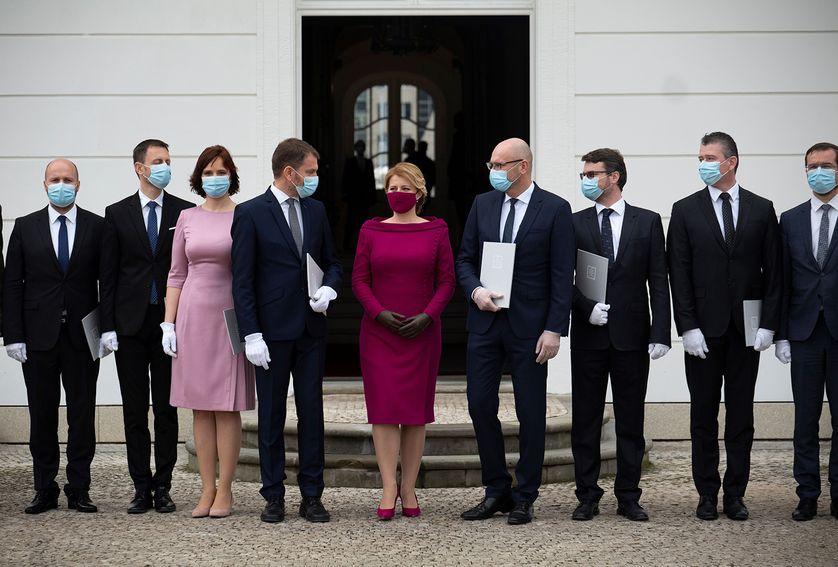 En Pleine Crise Sanitaire La Slovaquie Nomme Un Nouveau Gouvernement Anti Corruption