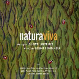 """Pochette de l'album """"naturaviva"""" par Orchestre De Paris"""