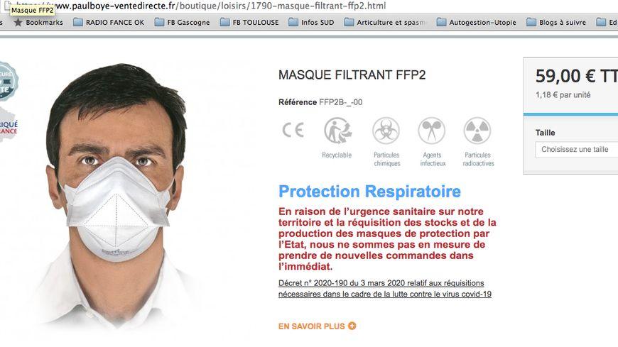 masque contre les viruse