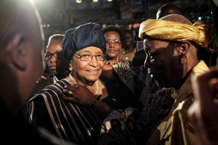 Ellen Johnson Sirleaf a reçu le Prix Mo Ibrahim à Kigali en avril 2018