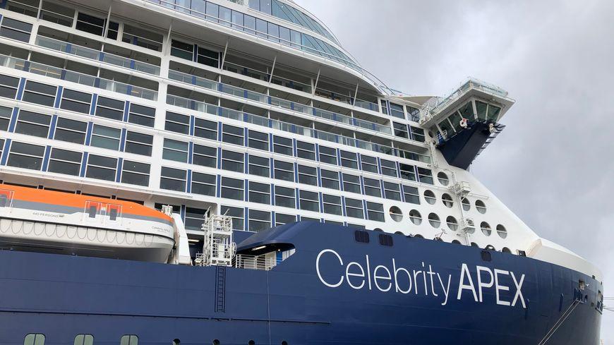 Coronavirus : A Saint-Nazaire, l'équipage du Celebrity Apex confiné à bord
