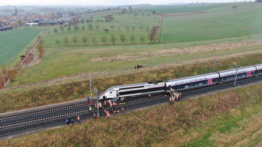 Le TGV a déraillé à hauteur de Ingenheim (Bas-Rhin).