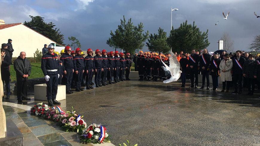 La Vendée a rendu hommage ce dimanche 1er mars 2020 aux 29 victimes de Xynthia il y a dix ans à La Faute-sur-Mer.