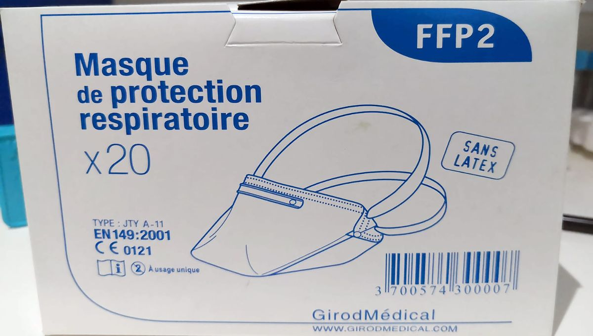 masque hopital ffp2
