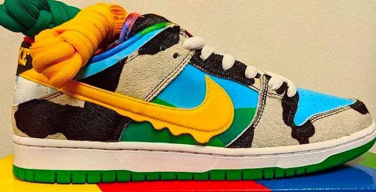 Nike Dunk SB x Ben & Jerry's : les premières images de la collab