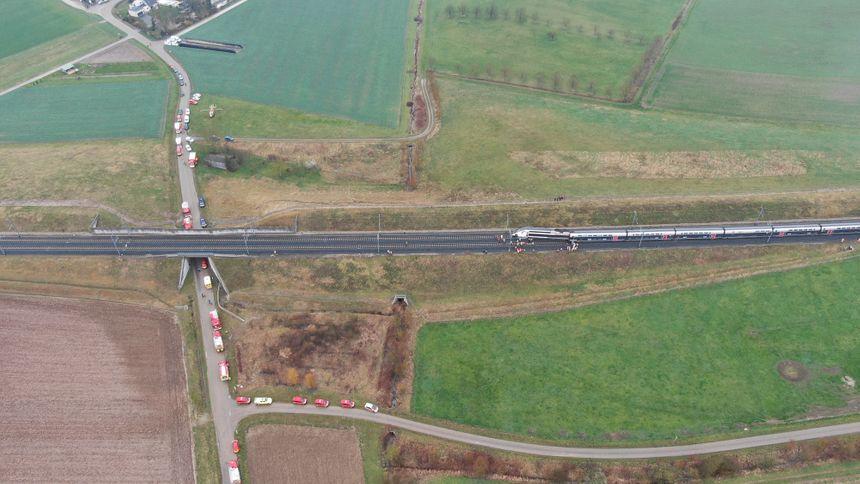 Le TGV a déraillé à 7h44 jeudi 5 mars. - Aucun(e)