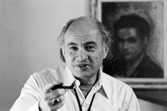 Photo prise dans les années 70 du philosophe et sociologue Edgar Morin.