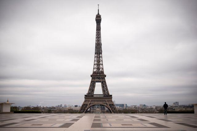 La place du Trocadero, à Paris