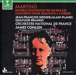 Double concerto pour 2 orchestres à cordes piano et timables H 271 : 1. Poco allegro - JEAN FRANCOIS HEISSER