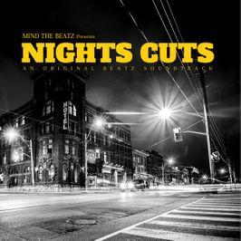 """Pochette de l'album """"Nights cuts"""" par Mind The Beatz"""